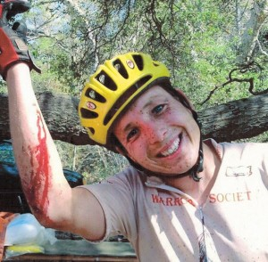 Ron Sawicki after finishing Vision Quest in 2001